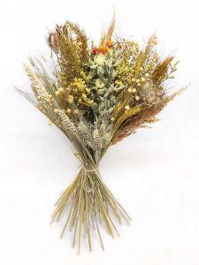 Trockenblumen-Box DIY, gelb