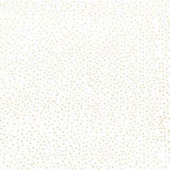 Geschenkpapier Hochzeit, gold/Punkte, 1,5 x 0,7 m