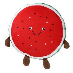 Plüschkissen Frucht, Wassermelone, 35 cm