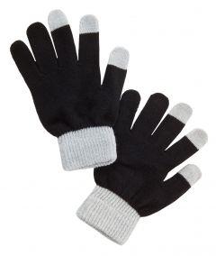 Handy-Handschuhe, grau/schwarz