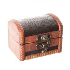 Box Emma, Schlange, schwarz, 8 cm