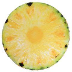 Stuhlkissen Frucht, Ananas, rund, 38 cm
