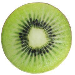 Stuhlkissen Frucht, Kiwi, rund, 38 cm