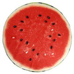 Stuhlkissen Frucht, Melone, rund, 38 cm