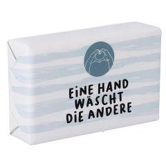 Seife Spruch, Eine Hand wäscht die Andere, 100 g