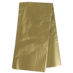 5 Blatt Seidenpapier, gold, 50 x 70 cm