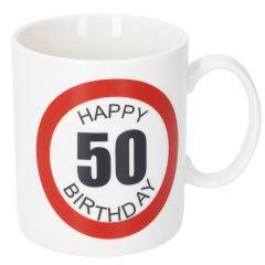 Becher Geburtstag XL, 50, 400 ml