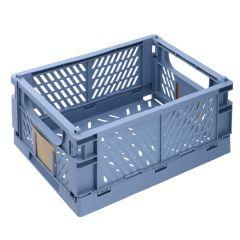 Klappbox, 33 x 24.5 cm, hellblau