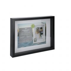 Bilderrahmen Tief, schwarz, 30 x 40 cm