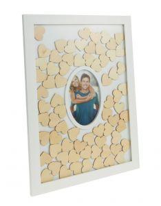 Gästebuch mit Fotorahmen, 31 x 43 cm