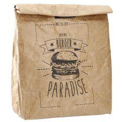 Lunchbag Cool, Burger, 21 x 26 cm