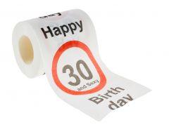 Toilettenpapier Birthday, 30 Jahre, 24 Meter