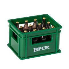 Flaschenöffner Bierkiste, grün, 3,5 cm