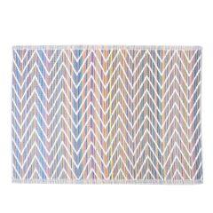 Teppich Outdoor, Zacken Multicolour, 120 x 180 cm