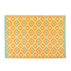 Teppich Outdoor, Maya orange/gelb, 120 x 180 cm