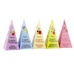 12er Set Tee Pyramide, Früchte, 24 g