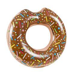 Schwimmring Donut, braun, 105 cm