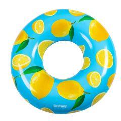 Schwimmring Frucht/Zitrone mit Duft, 119 cm