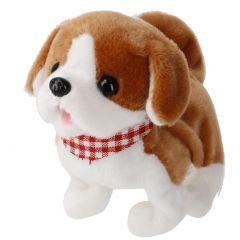 Hund mit Sound, laufend, Beagel