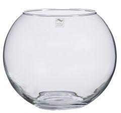 Glas-Kugelvase, 20 cm