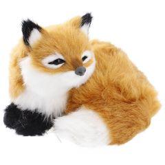 Fuchs Kunstfell, liegend, 13 cm