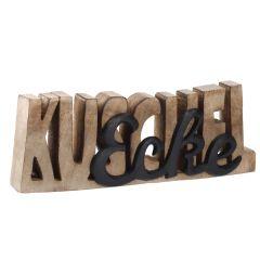 Schriftzug Kuschelecke, schwarz