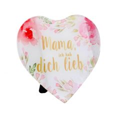 Deko-Herz, hab dich lieb, 15 x 15 cm