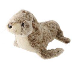 Plüschtier Sealife, Robbe braun, 29 cm