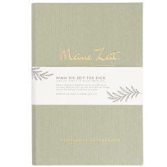 Notizbuch Achtsamkeit, Zeit, grün