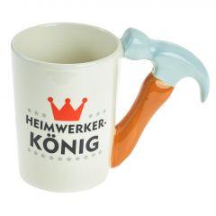 Becher Handwerker, Hammer, 400 ml