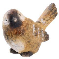 Vogel Franz, natur, Kopf links, 10 cm