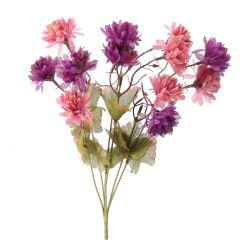 Strauß Chrysantheme, lila, 38 cm