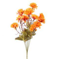 Strauß Chrysantheme, orange, 38 cm