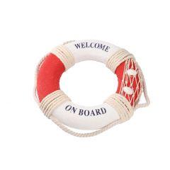Rettungsring Meer, rot, 21 cm