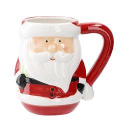 Becher Weihnachtsmann, 12 cm