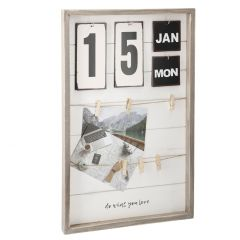 Kalenderrahmen mit 6 Clips