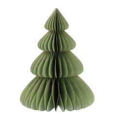 Deko-Baum Wabe, hellmintgrün, 15 cm