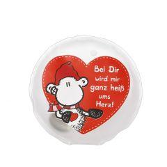 Taschenwärmer Sheepworld, Heiß ums Herz