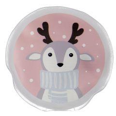 Taschenwärmer Weihnachten, Rentier/Schal