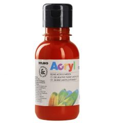 Acrylfarbe, zinnoberrot, 130 ml