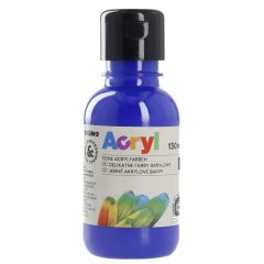 Acrylfarbe, ultramarine blau, 130 ml