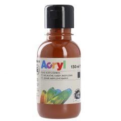 Acrylfarbe, sienna gebrannt, 130 ml