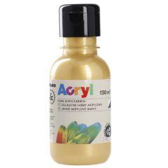 Acrylfarbe, gold, 130 ml