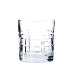 Wasserglas mit Schliff, klar, 325 ml