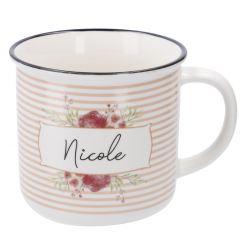 Becher Floral, Nicole, 300 ml