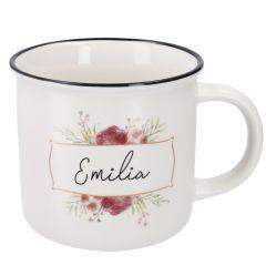 Becher Floral, Emilia, 300 ml