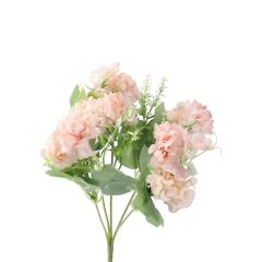Strauß Pastellblumen, rosa, 28 cm