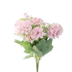 Strauß Pastellblumen, flieder, 28 cm