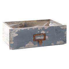 Pflanz-Schublade, dunkelblau, 27 cm