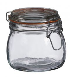 Vorratsglas mit Bügelverschluss, 500 ml